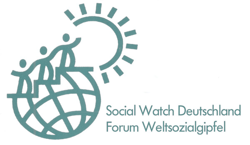 Logo Social Watch Deutschland